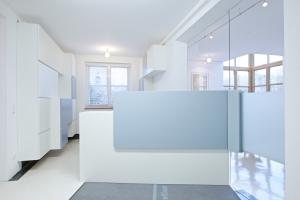 Gesundheitszentrum Laakirchen Empfangsbereich